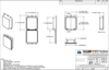 903TF - Stock Clamshell Packaging Technical Drawing