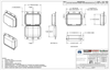 301TF - Stock Clamshell Packaging Technical Drawing