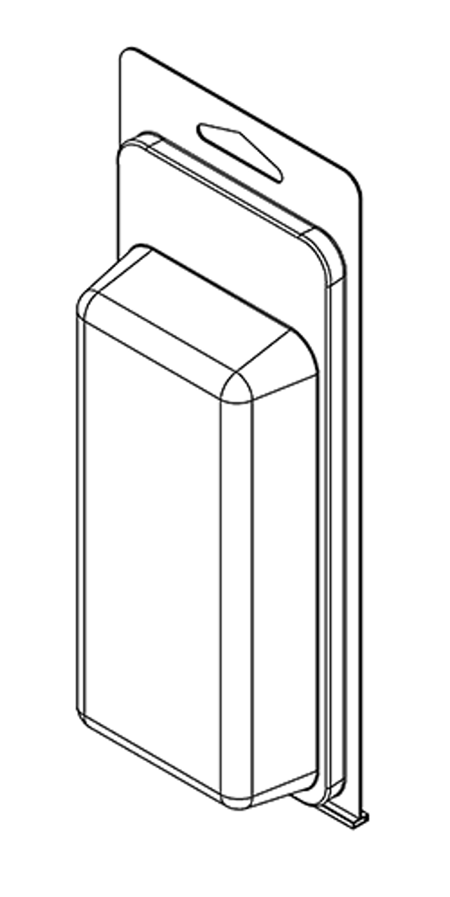 262TF - Stock Clamshell Packaging