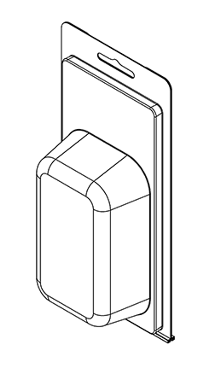 211TF - Stock Clamshell Packaging
