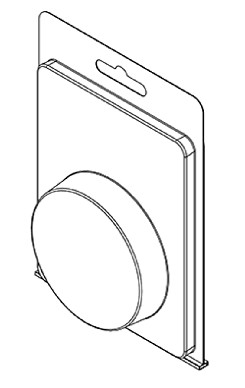 178TF - Stock Clamshell Packaging