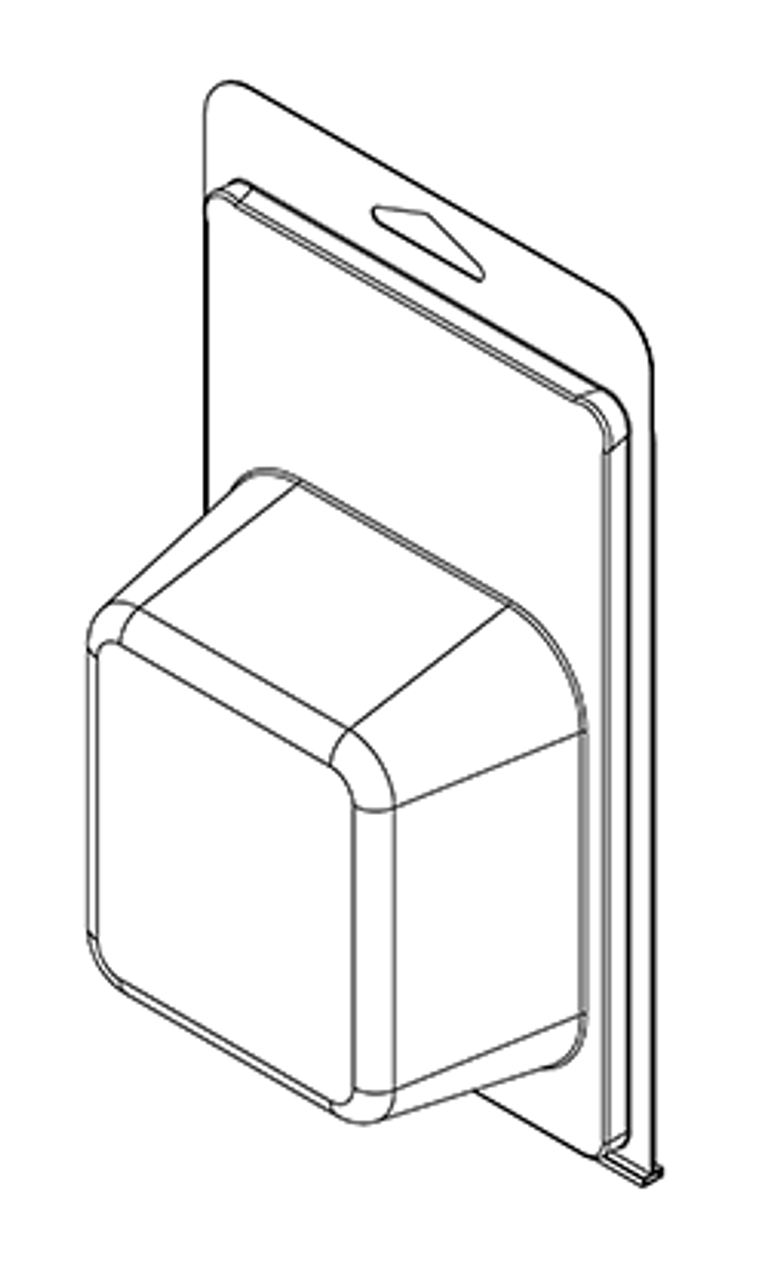420TF - Stock Clamshell Packaging