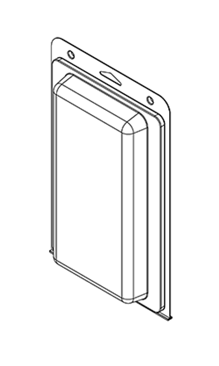 580TF - Stock Clamshell Packaging
