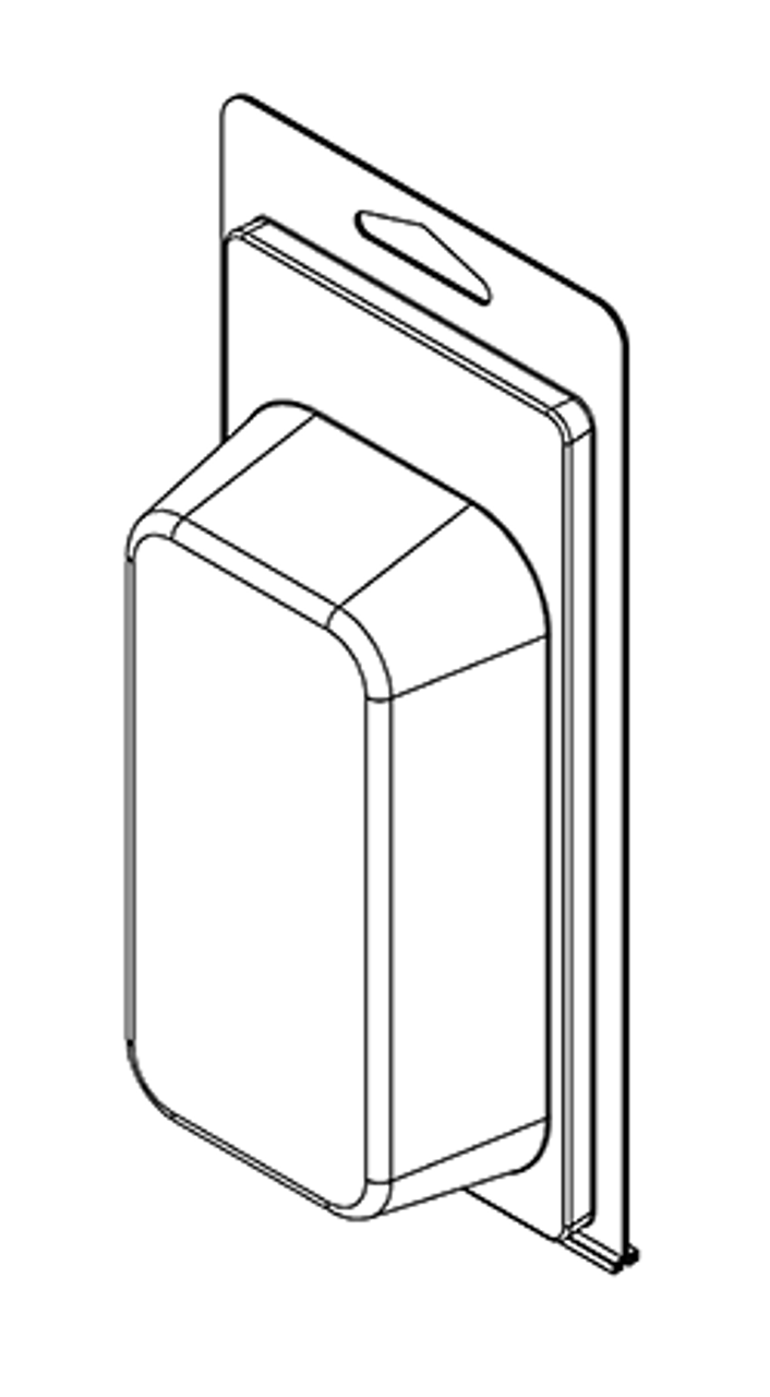 206TF - Stock Clamshell Packaging