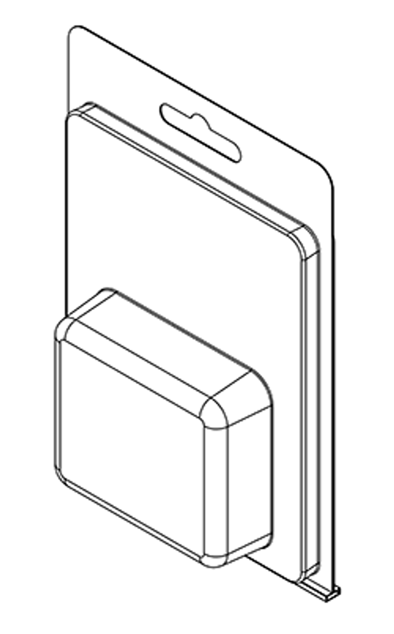 180TF - Stock Clamshell Packaging