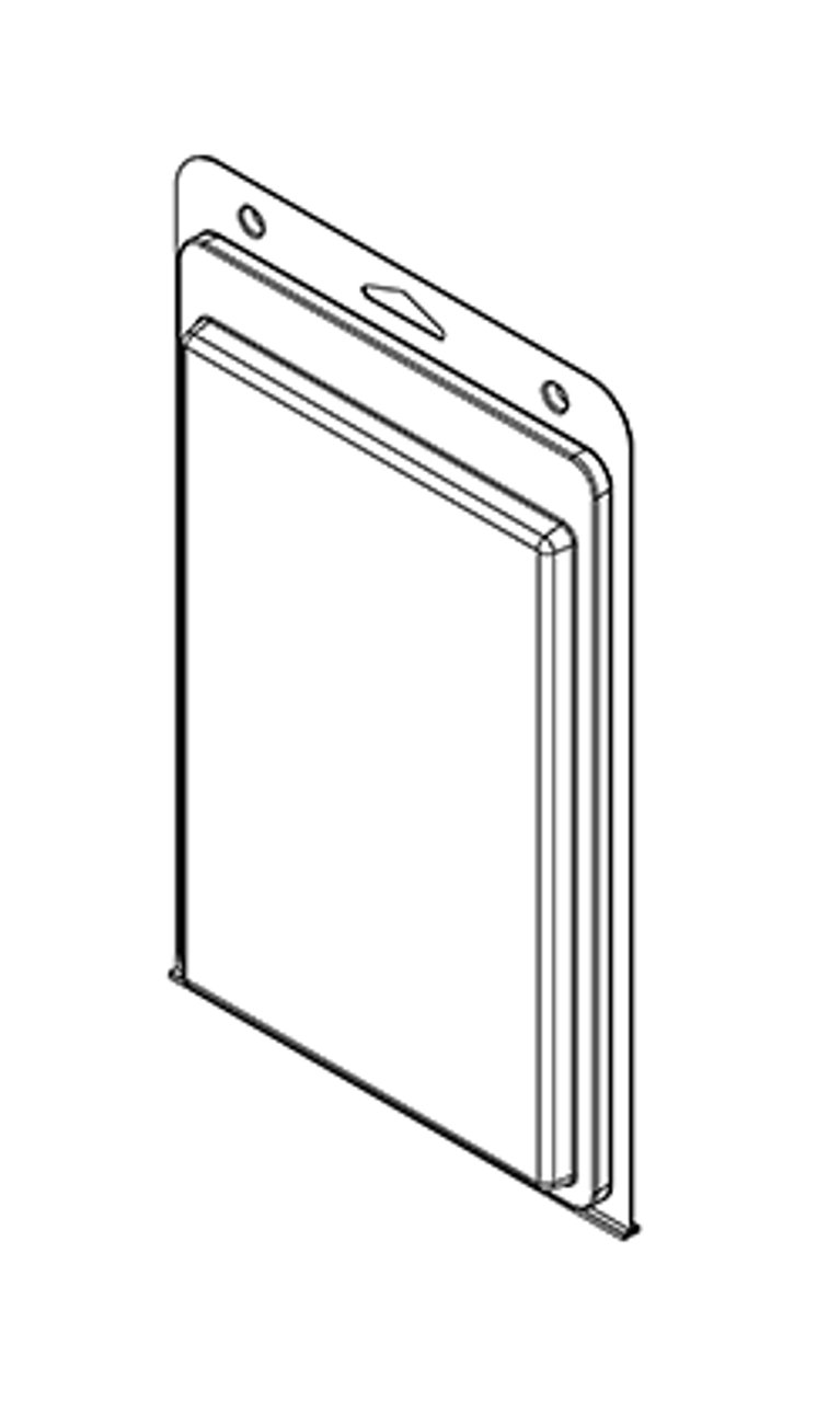 578TF - Stock Clamshell Packaging