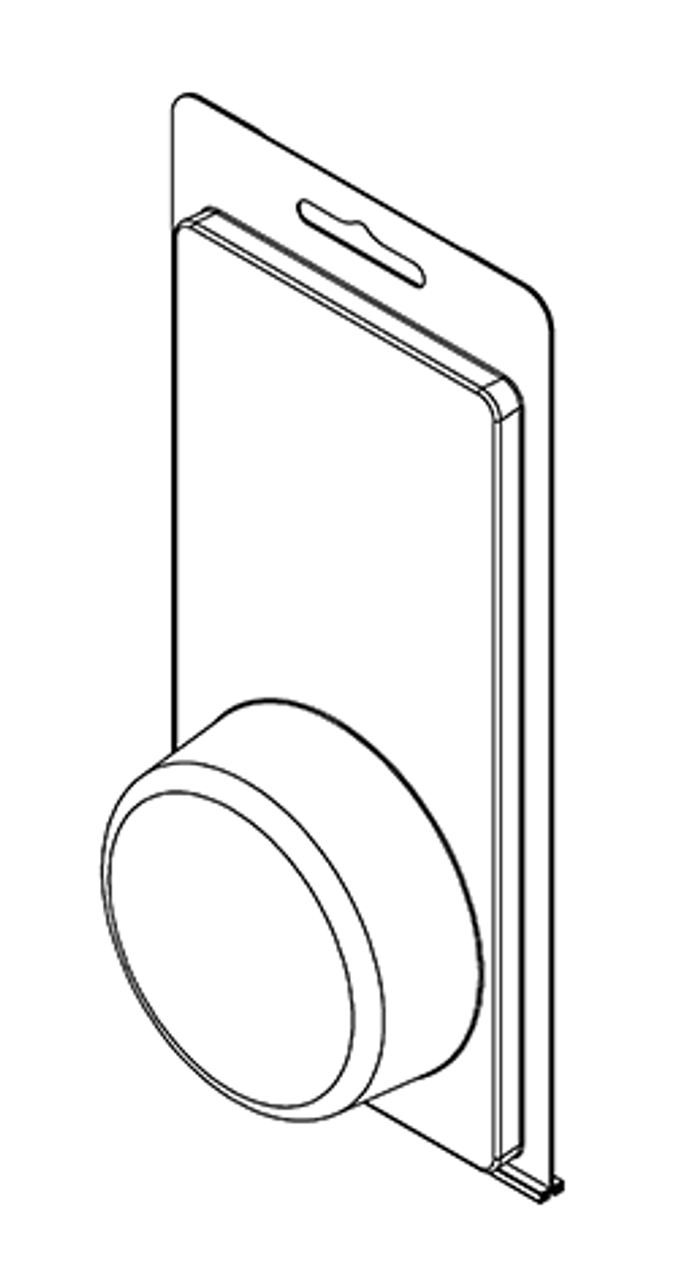 203TF - Stock Clamshell Packaging