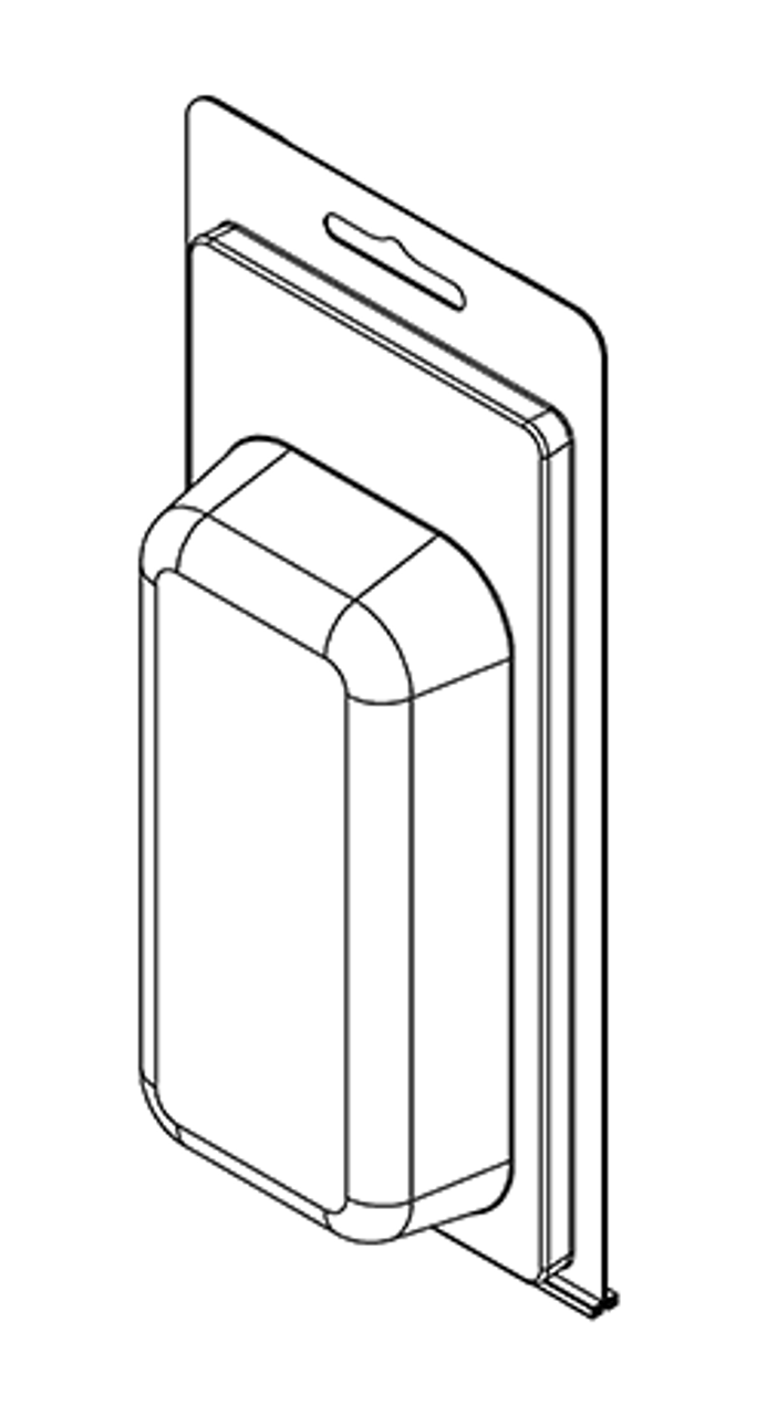 204TF - Stock Clamshell Packaging
