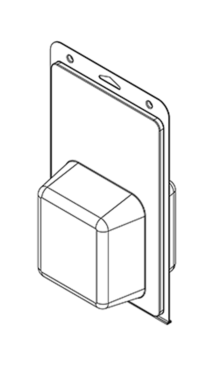 582TF - Stock Clamshell Packaging