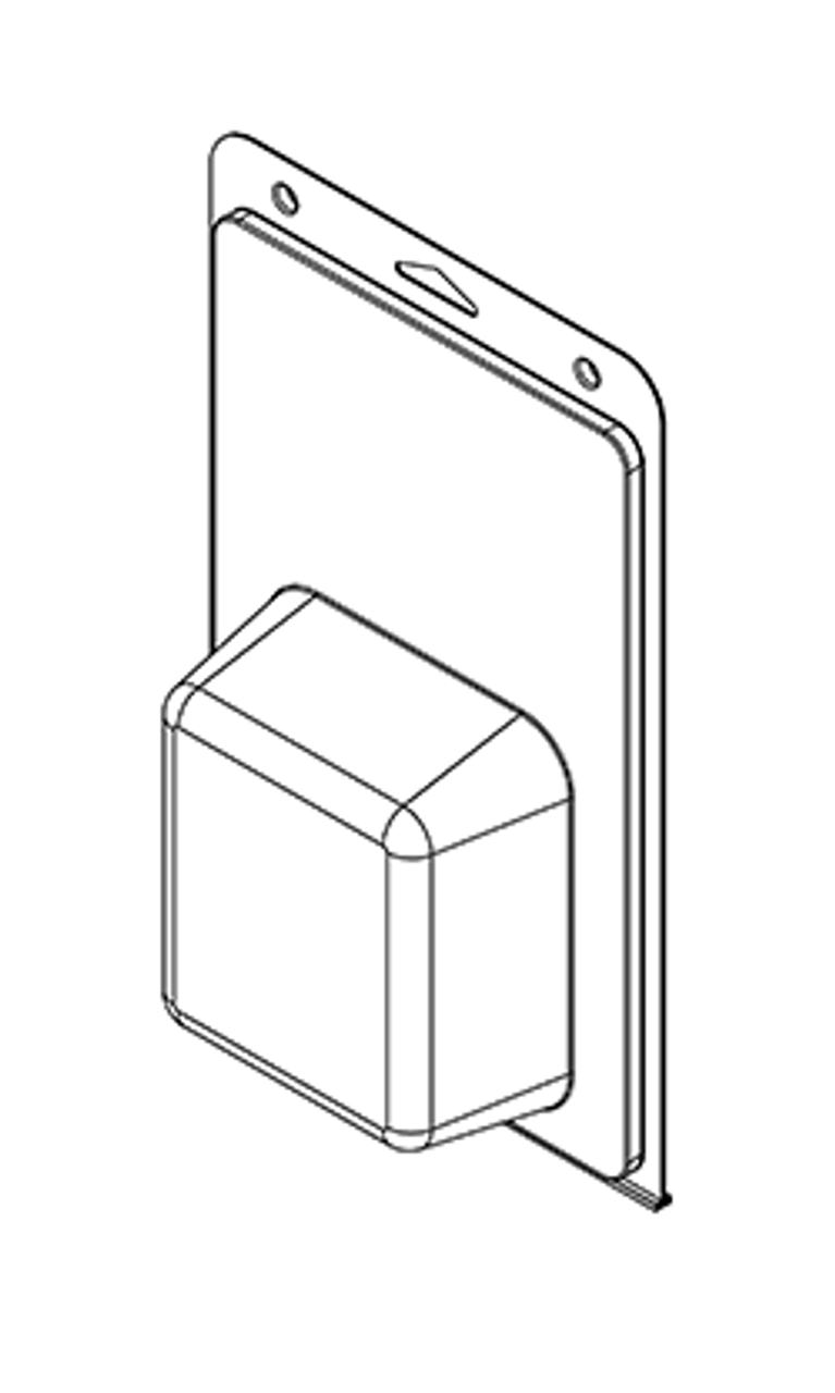 583TF - Stock Clamshell Packaging
