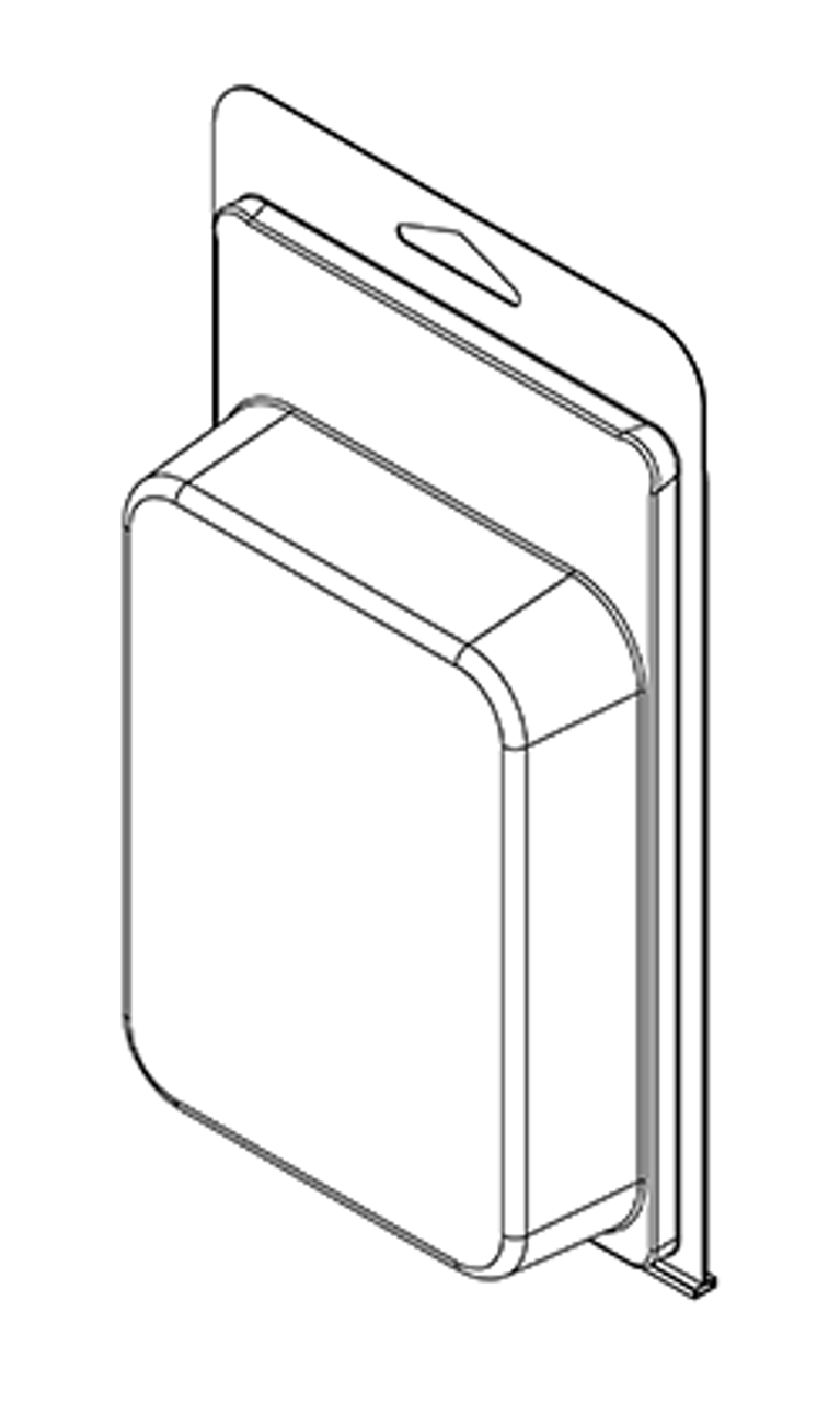 415TF - Stock Clamshell Packaging