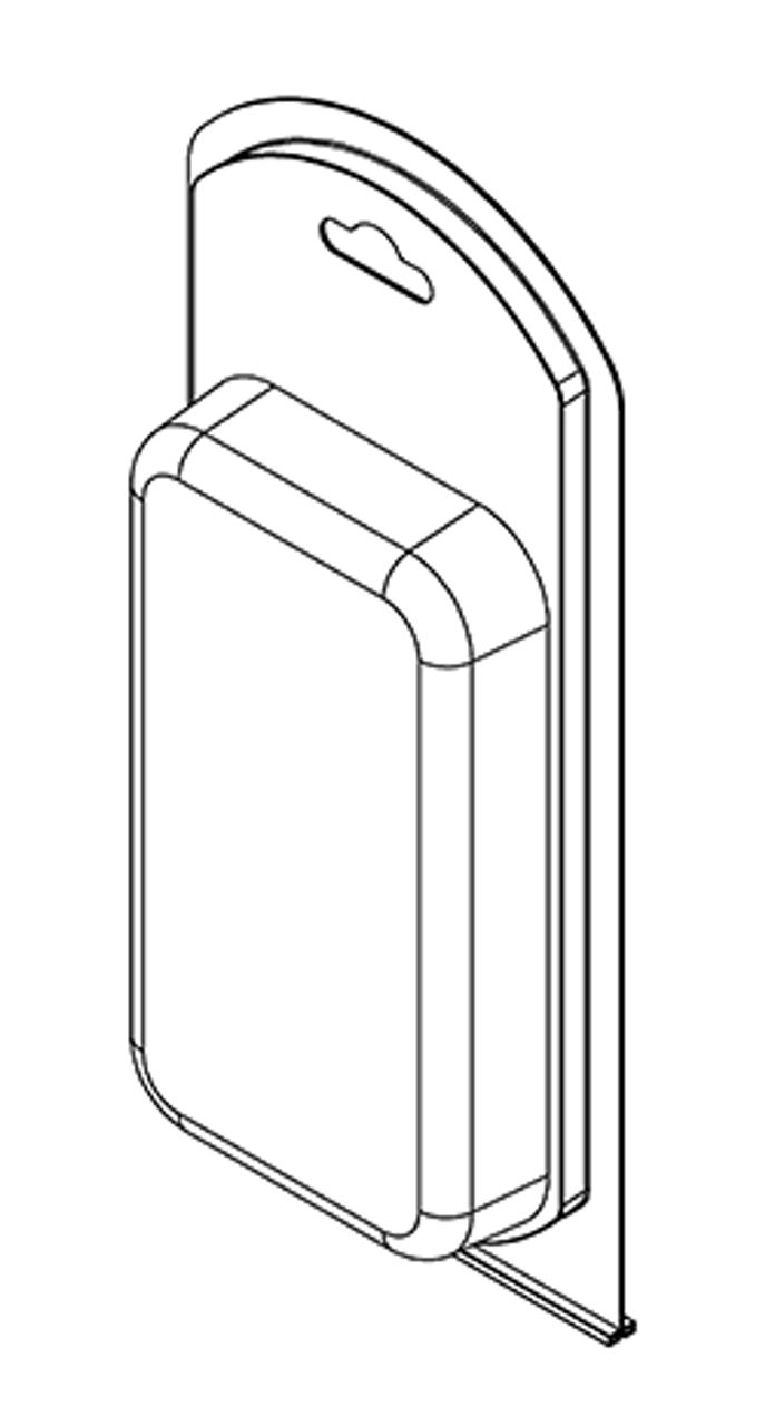 394TF - Stock Clamshell Packaging