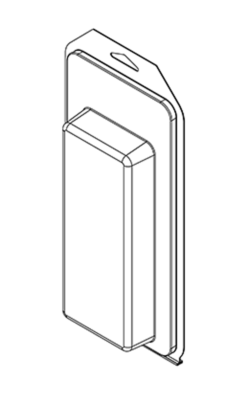 501TF - Stock Clamshell Packaging