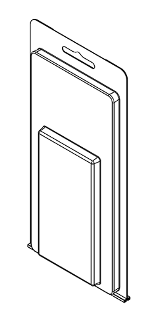 213TF - Stock Clamshell Packaging