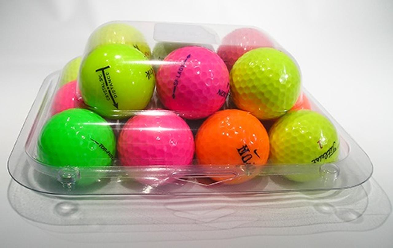 118-1TF - 18-Ball Egg Carton Bottom Golf Ball Clamshell