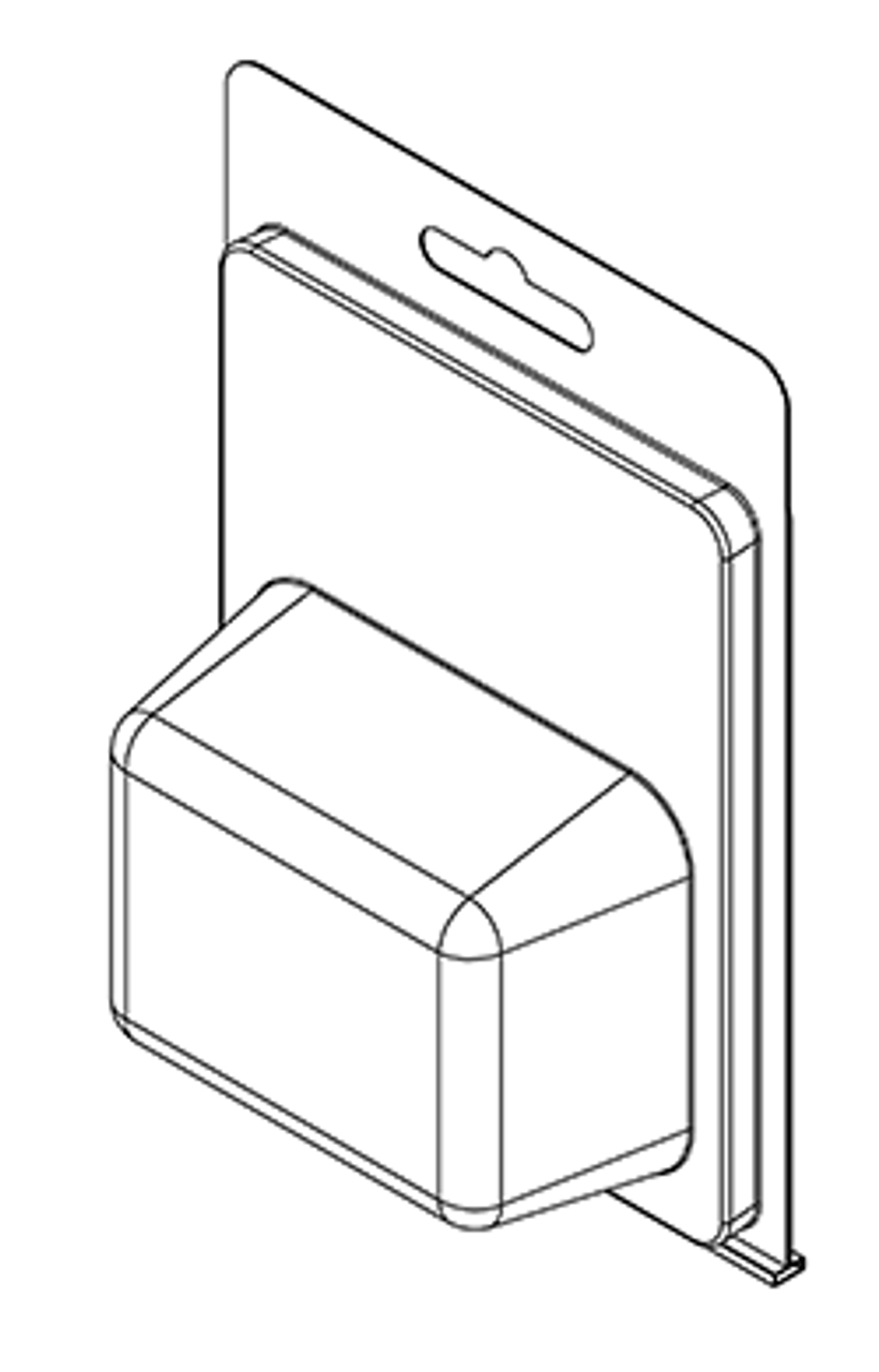 179TF - Stock Clamshell Packaging