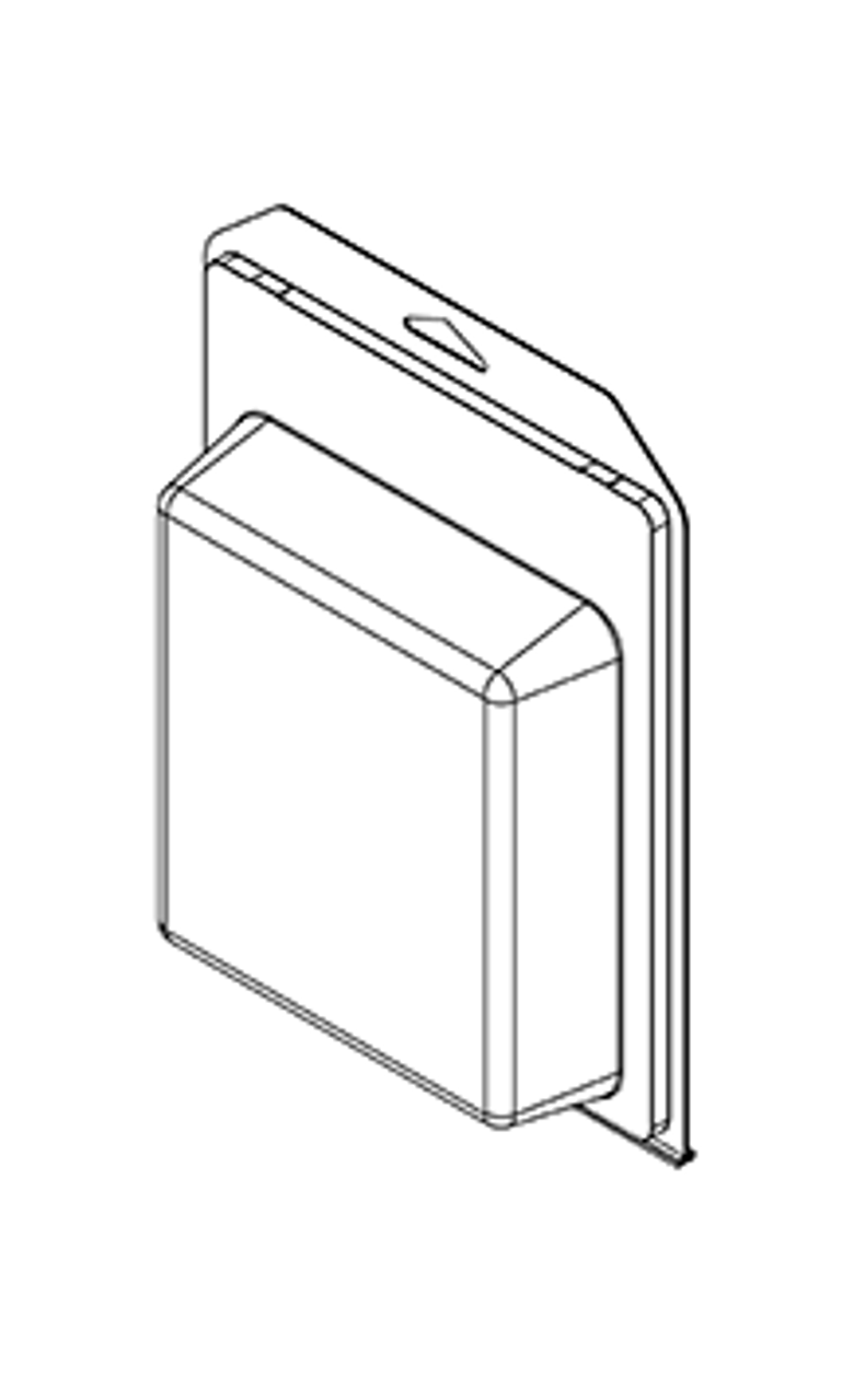 753TF - Stock Clamshell Packaging