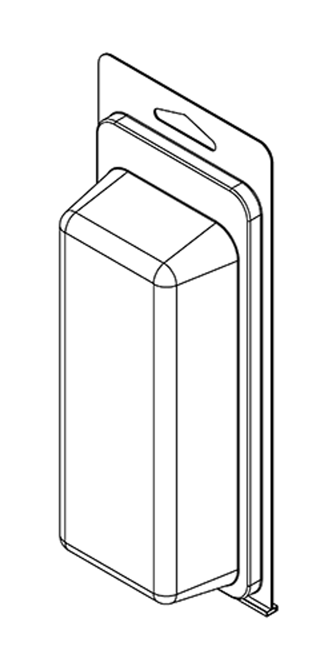 261TF - Stock Clamshell Packaging
