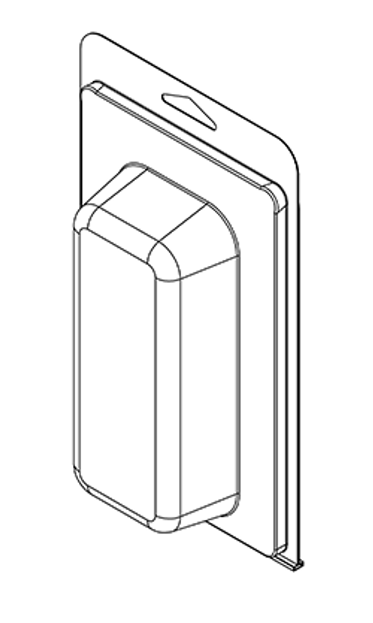 401TF - Stock Clamshell Packaging