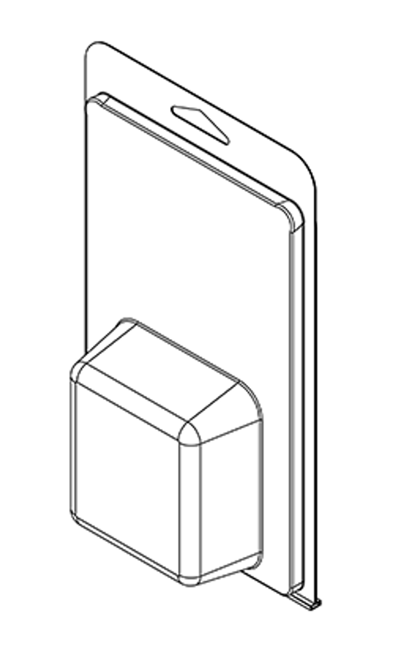 418TF - Stock Clamshell Packaging