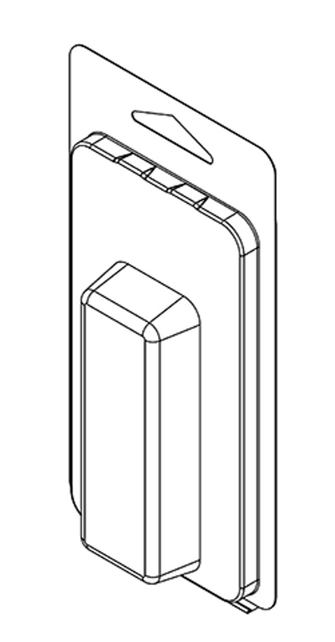107TF - Stock Clamshell Packaging