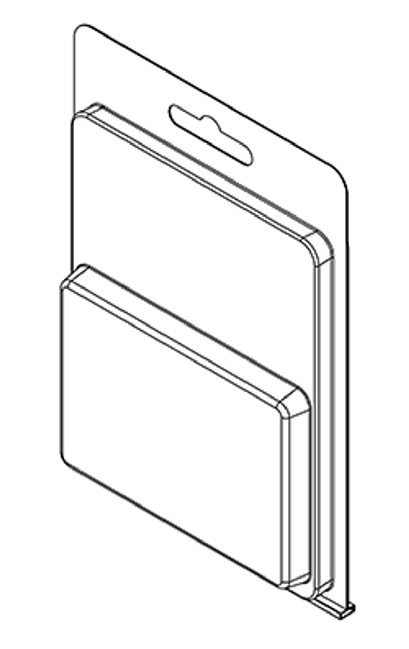 177TF - Stock Clamshell Packaging