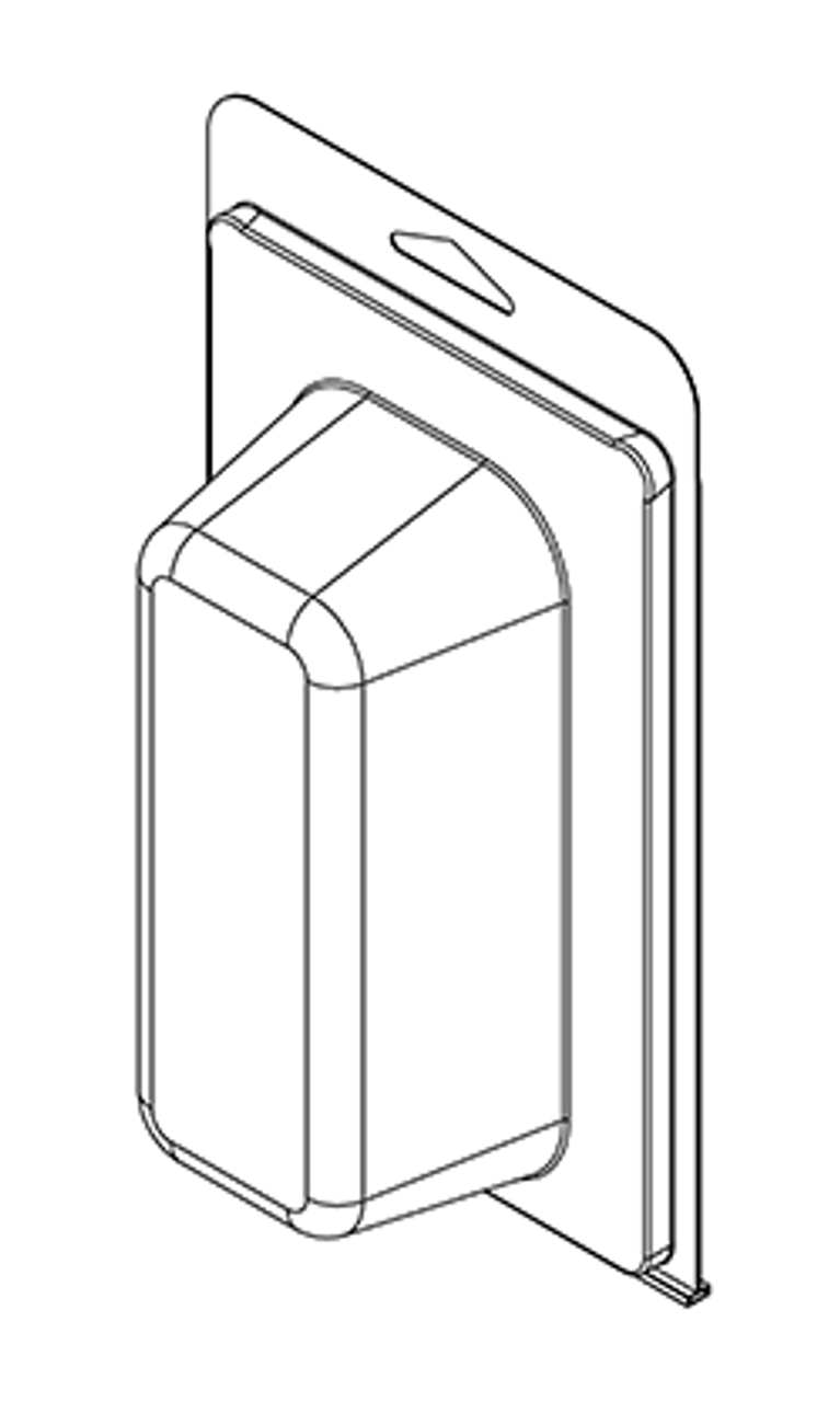 402TF - Stock Clamshell Packaging