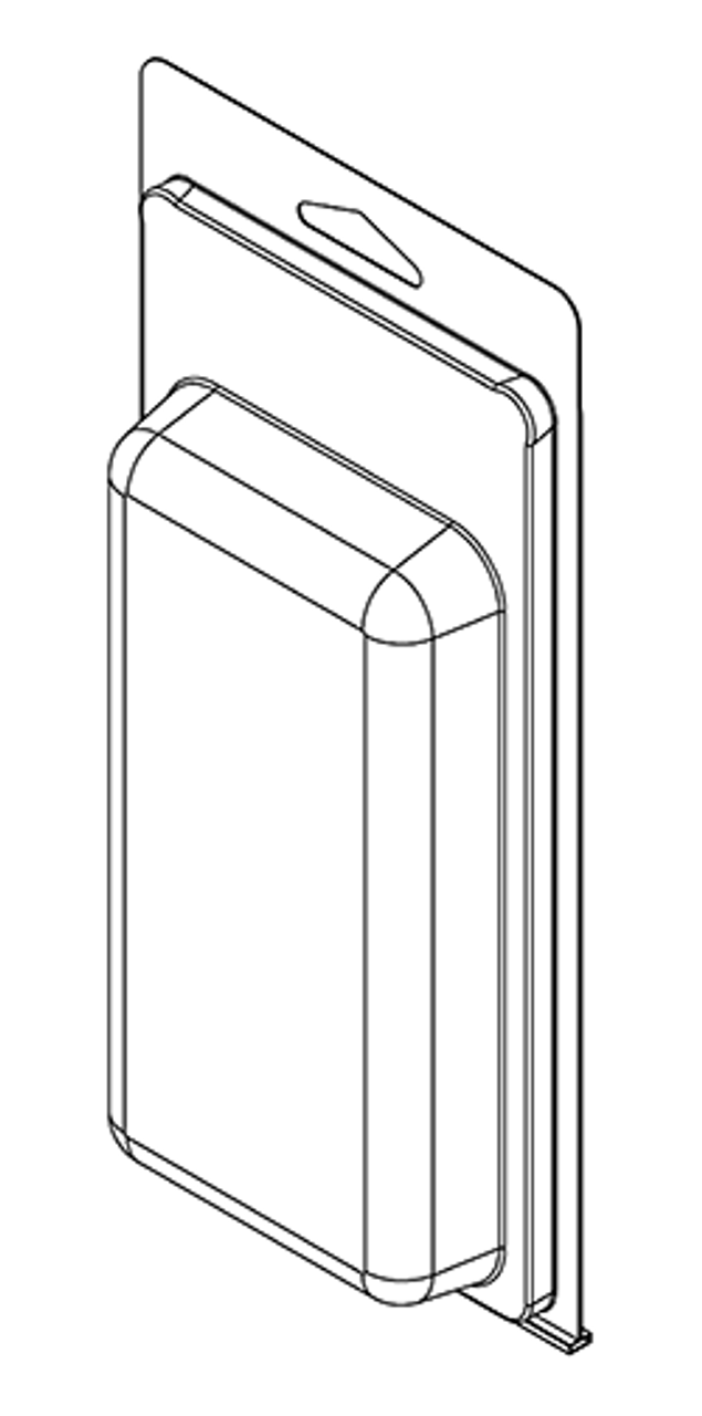 294TF - Stock Clamshell Packaging