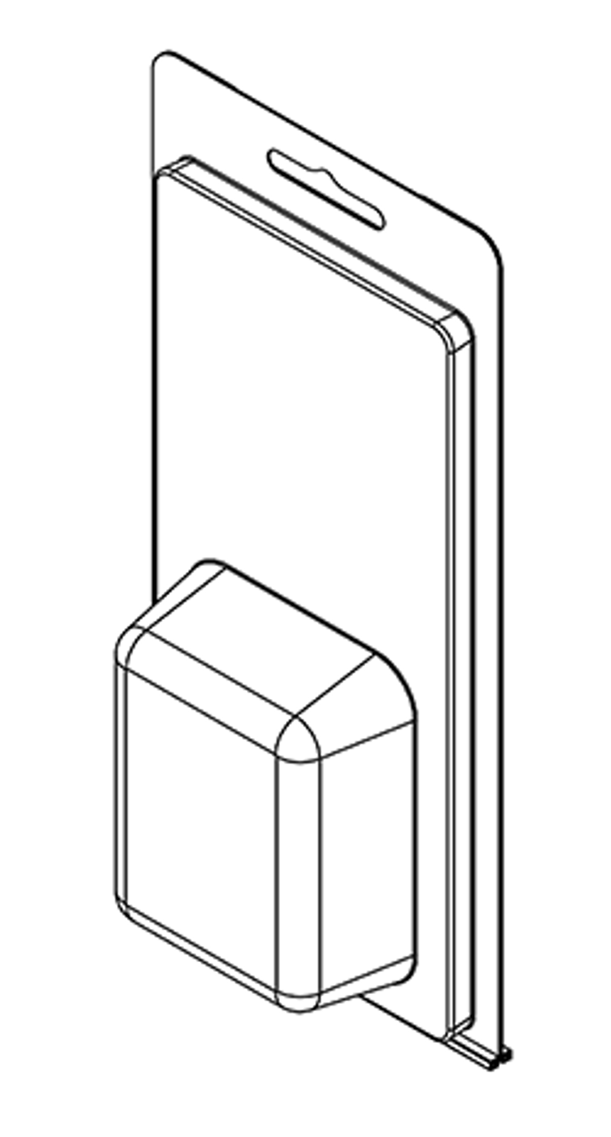 210TF - Stock Clamshell Packaging