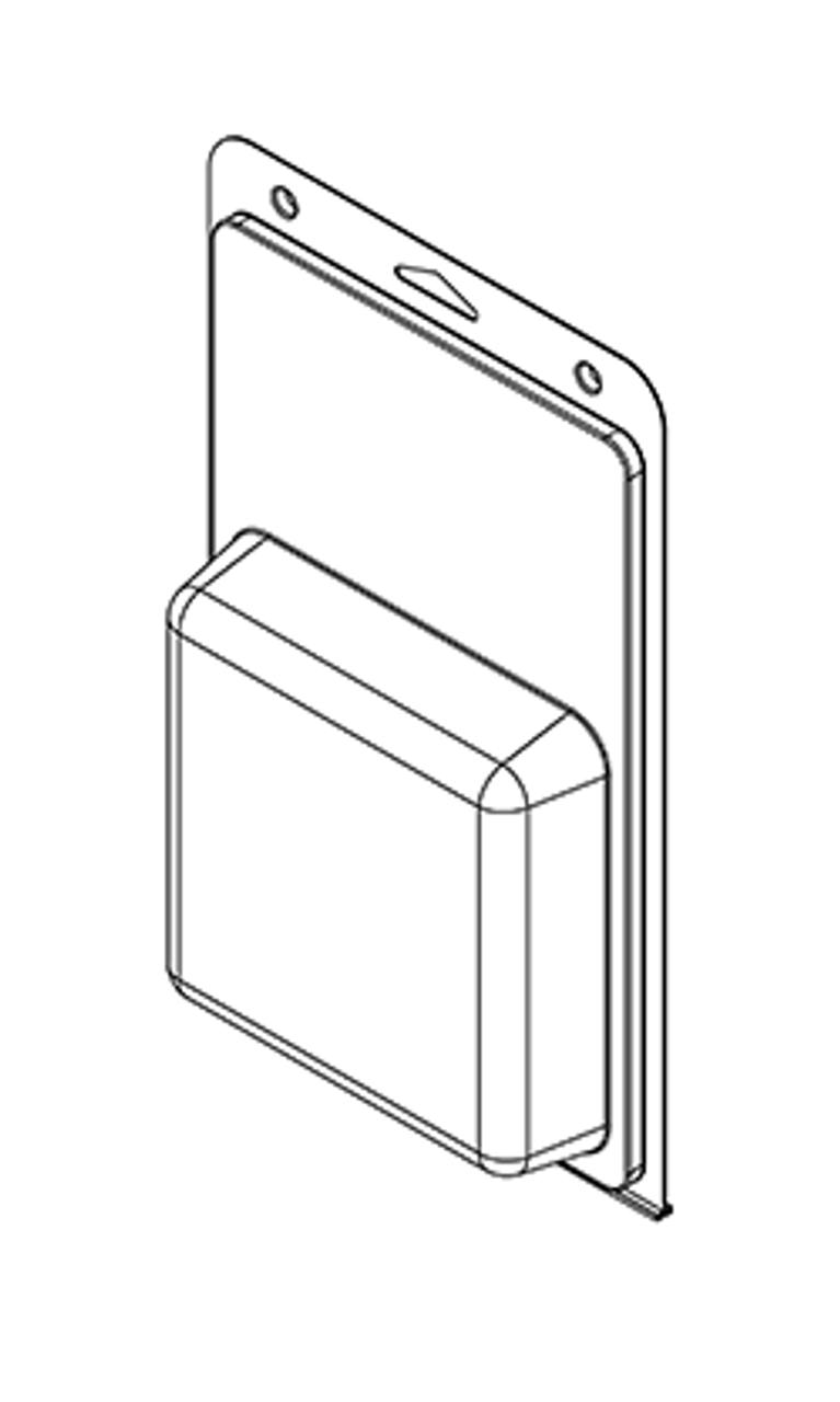576TF - Stock Clamshell Packaging