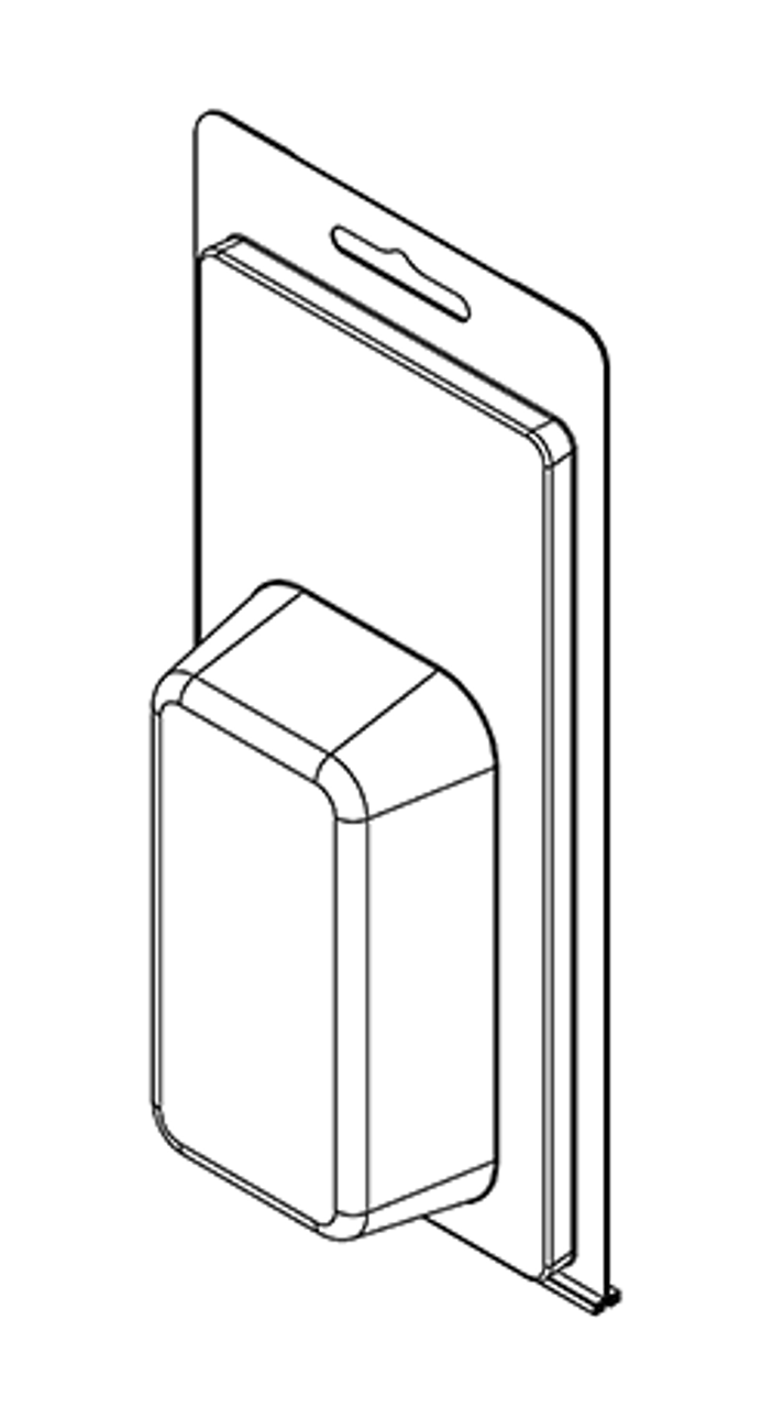 208TF - Stock Clamshell Packaging