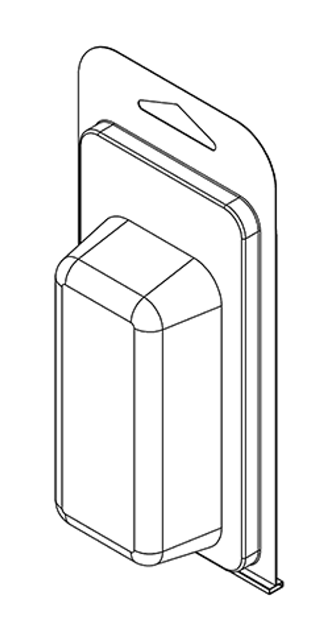 108TF - Stock Clamshell Packaging
