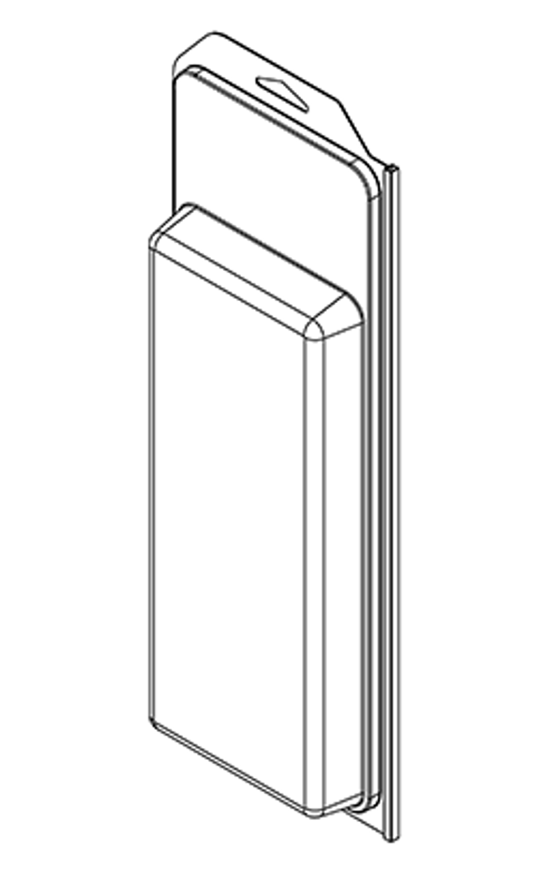 604TF - Stock Clamshell Packaging