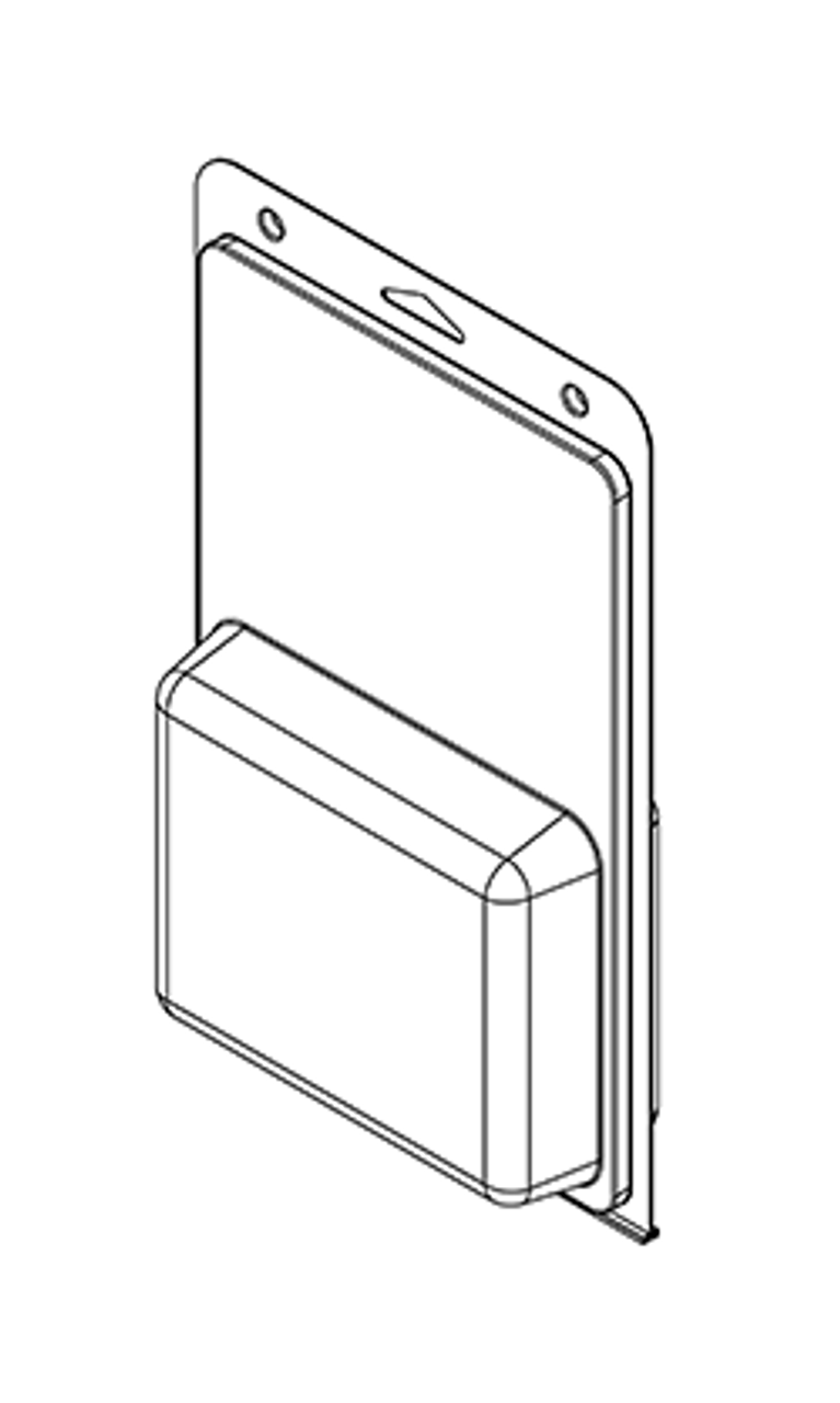 586TF - Stock Clamshell Packaging
