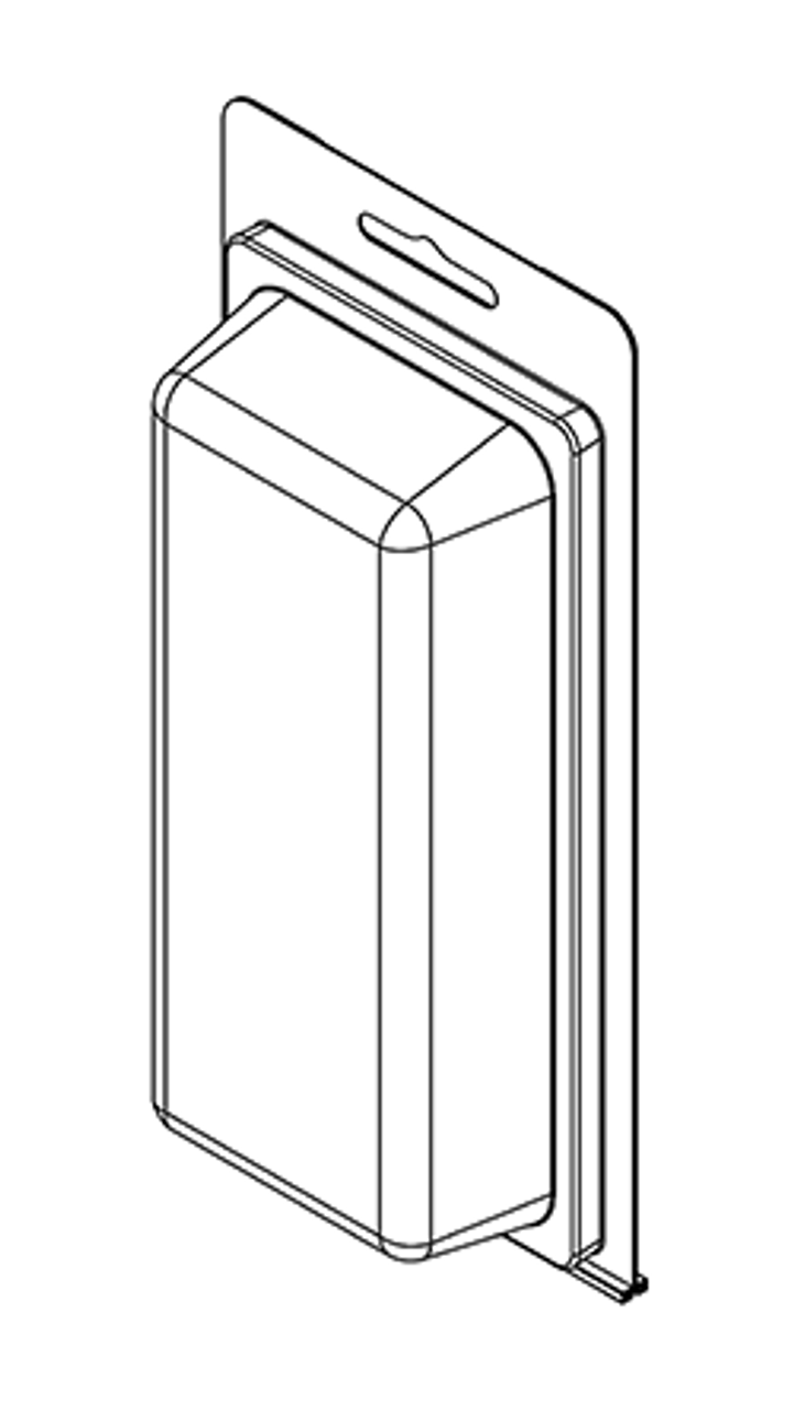 205-RTF - Stock Clamshell Packaging