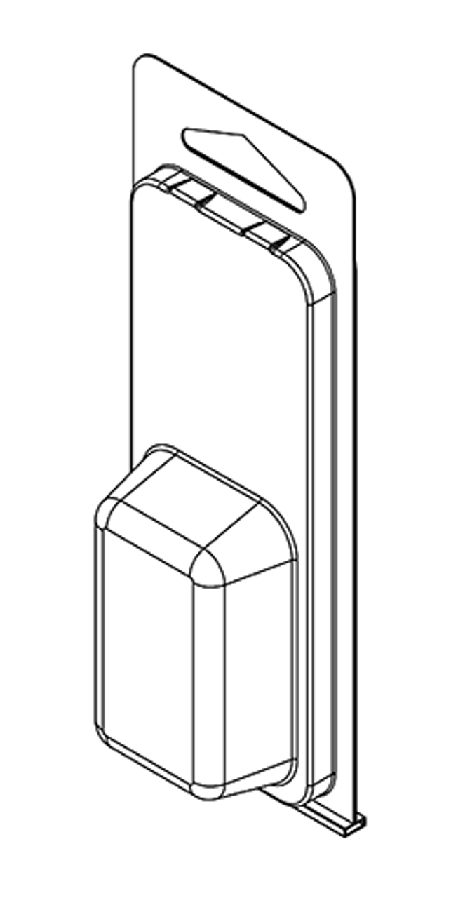 91TF - Stock Clamshell Packaging