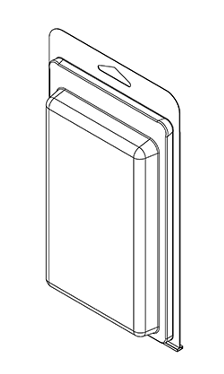 411TF - Stock Clamshell Packaging