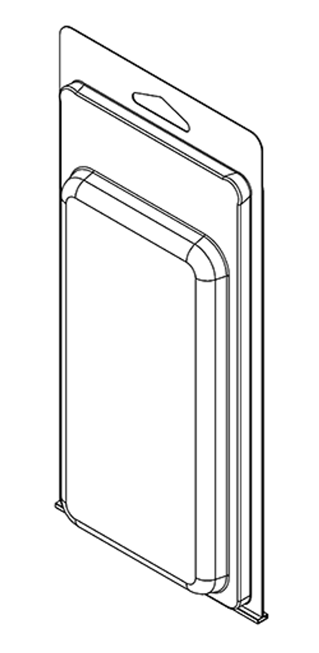 293TF - Stock Clamshell Packaging