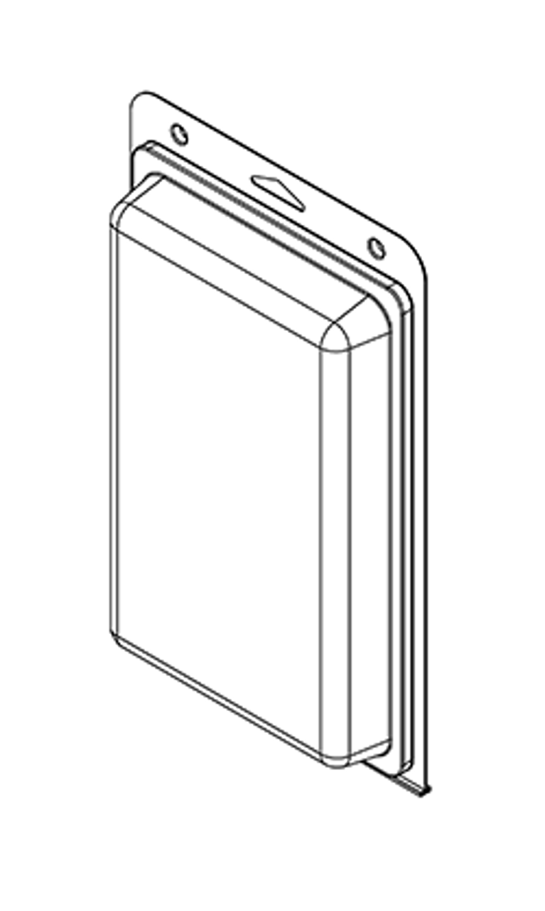 577TF - Stock Clamshell Packaging