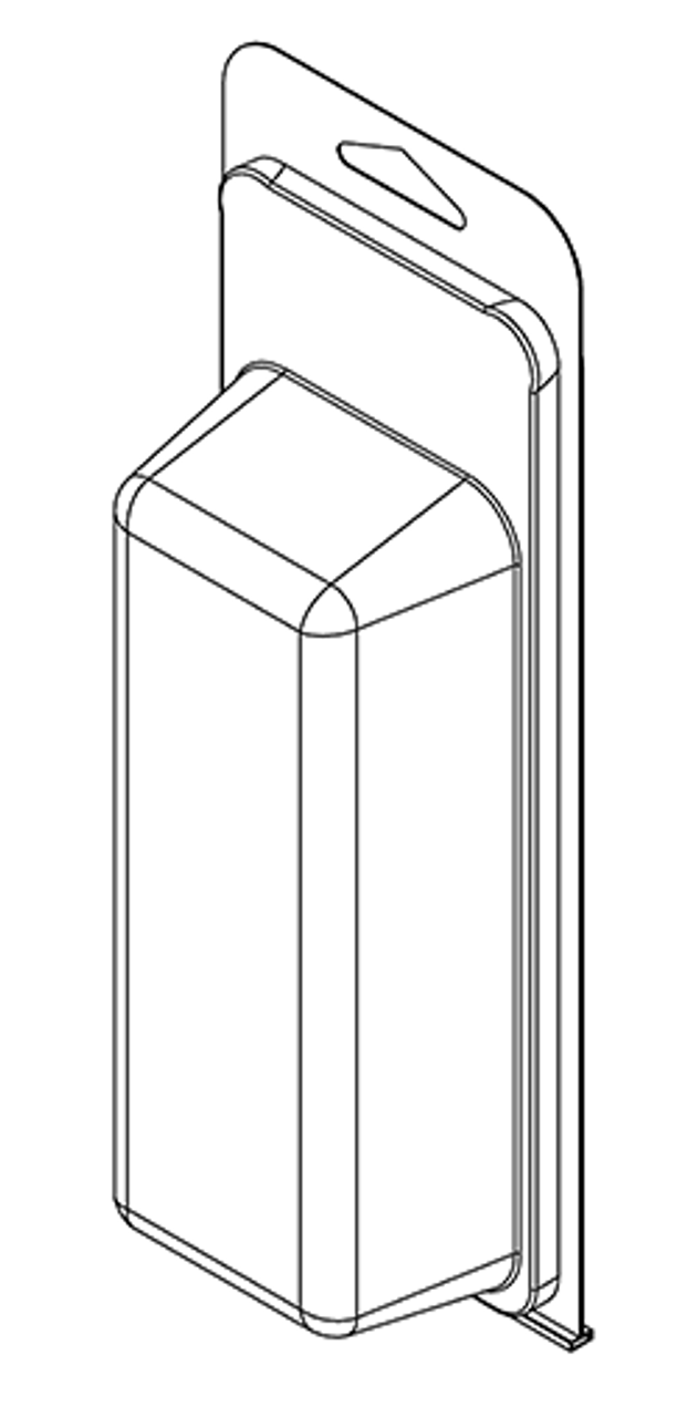377TF - Stock Clamshell Packaging