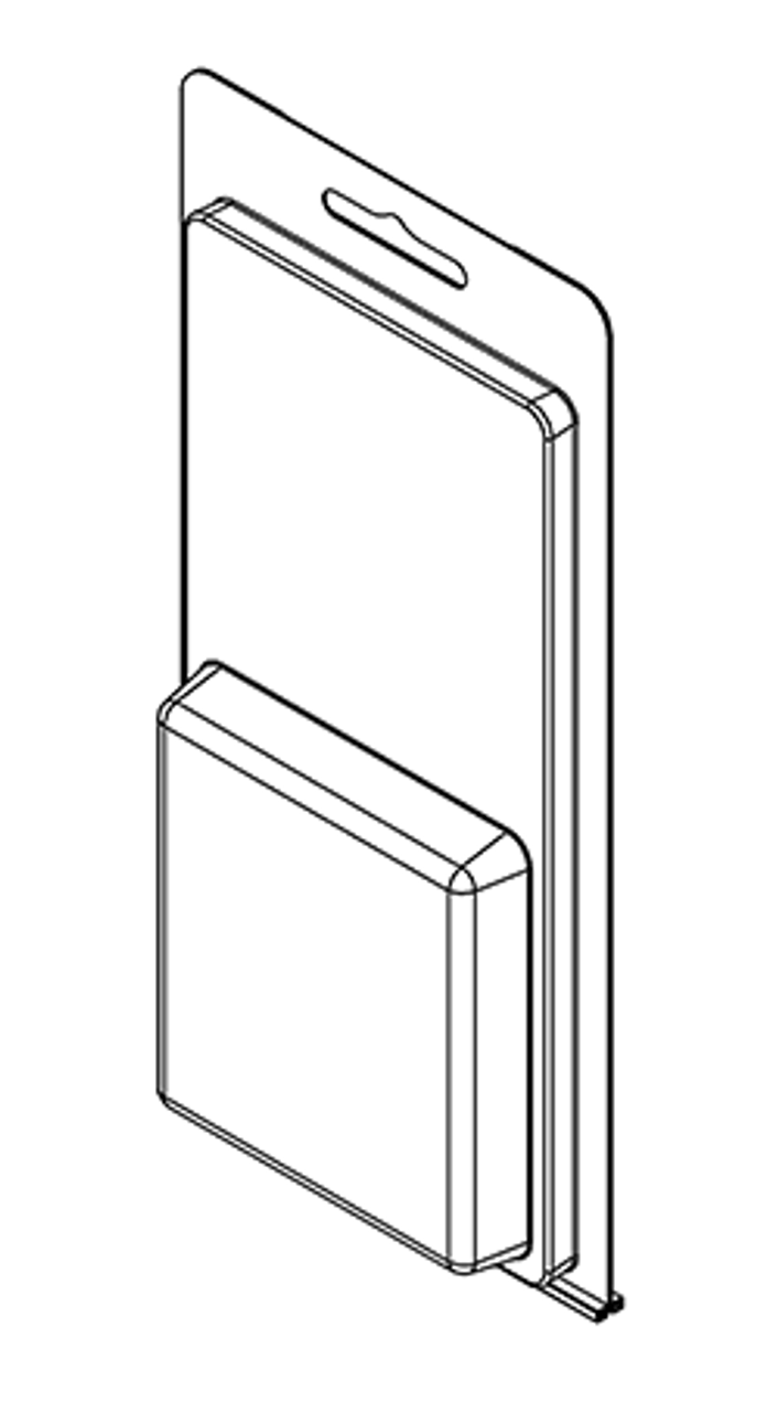 209TF - Stock Clamshell Packaging
