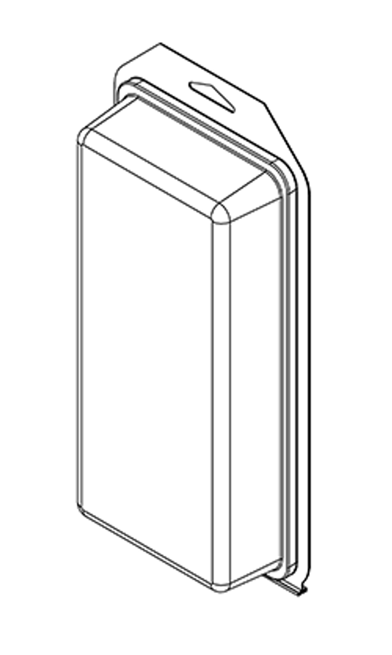 500TF - Stock Clamshell Packaging