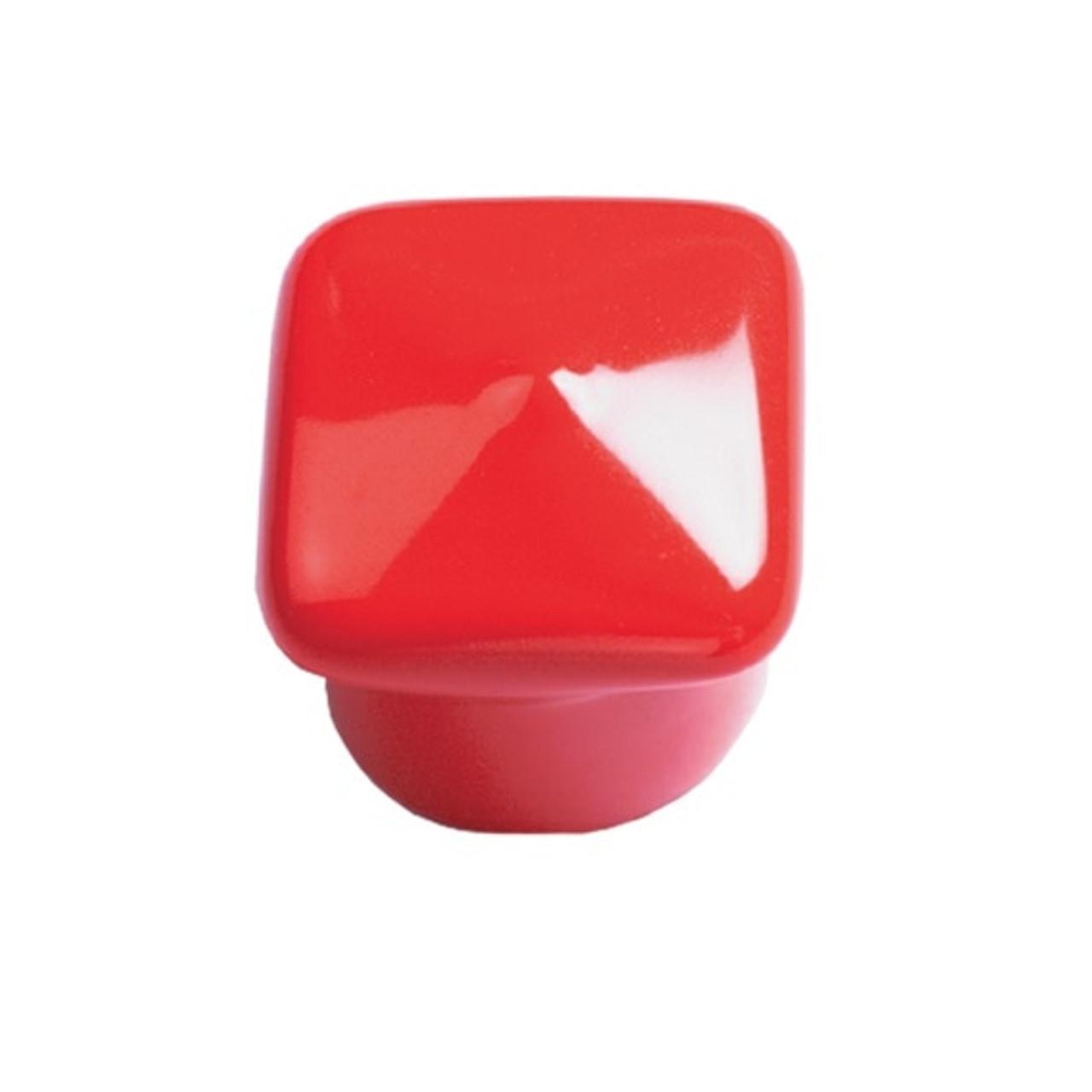 """1/4"""" x 1/2"""" Red Anti-Roll Cap - 1,000"""