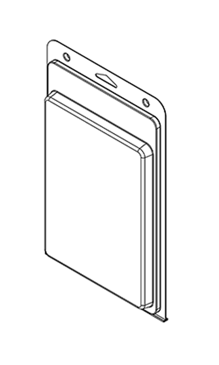 587TF - Stock Clamshell Packaging