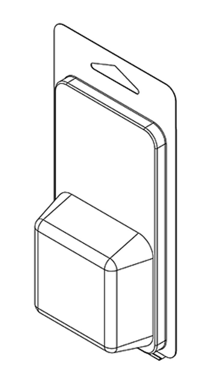 101TF - Stock Clamshell Packaging