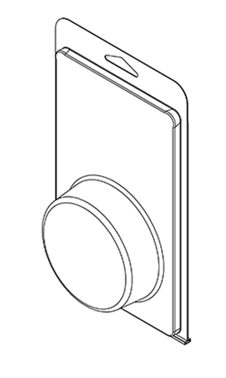 400TF - Stock Clamshell Packaging