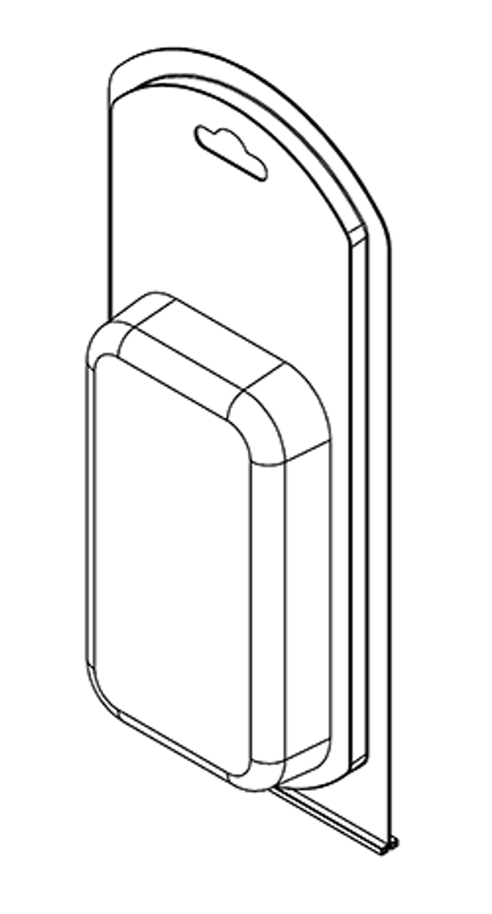 393TF - Stock Clamshell Packaging