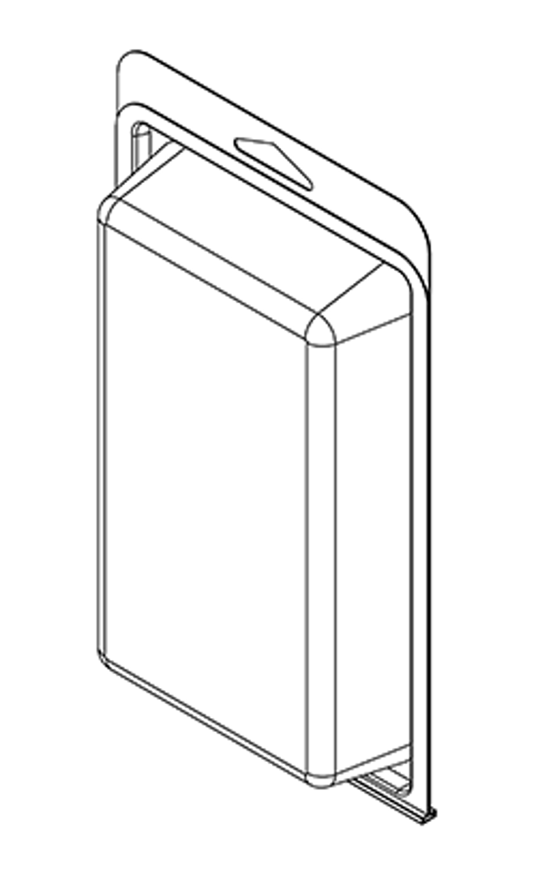 403TF - Stock Clamshell Packaging