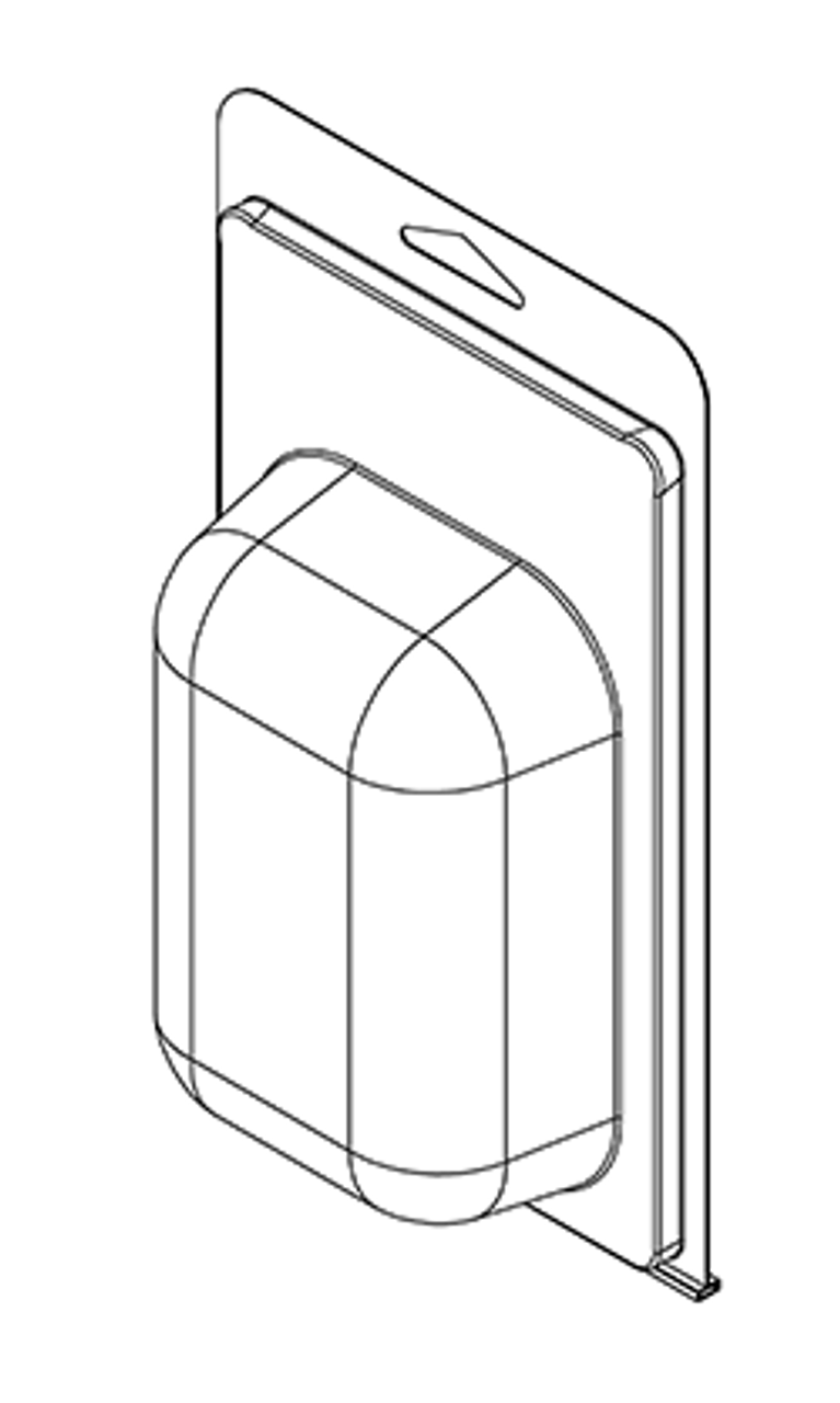 405TF - Stock Clamshell Packaging
