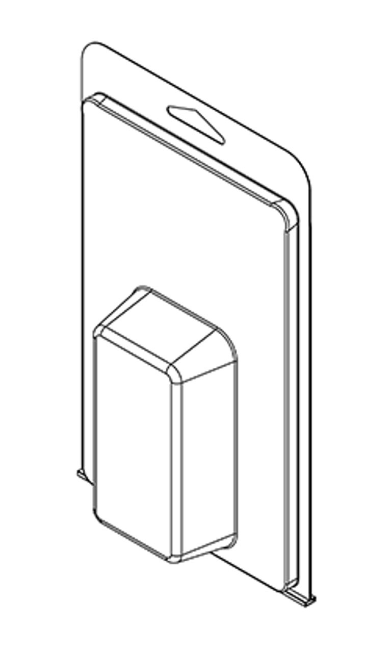 417TF - Stock Clamshell Packaging